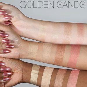 HUDA BEAUTY Makeup - Huda beauty 3D highlighter palette golden sands